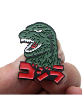 Godzilla Monsters Enamel Pins Anime Cosplay Metal Brooch For Backpack Bags Hats by Ebay Seller