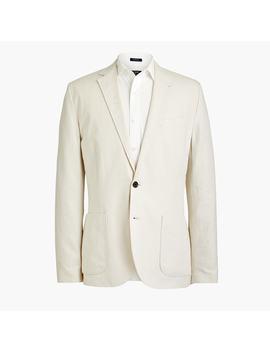Slim Thompson Blazer In Cotton Linen by J.Crew