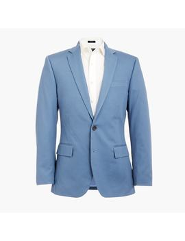 Slim Thompson Suit Jacket In Flex Pique by J.Crew