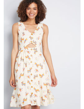 Keeping On Cutout Dress by Modcloth