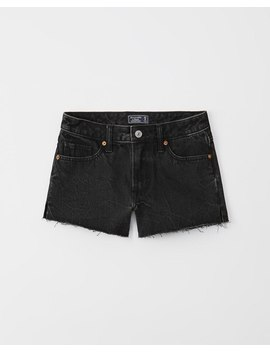 Low Rise Denim Shorts by Abercrombie &Amp; Fitch