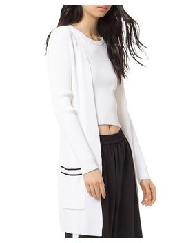 Open Front Cardigan by Michael Michael Kors