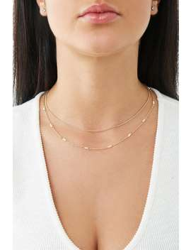 Faux Pearl Chain Necklace Set by Forever 21