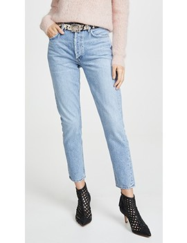 Jamie Hi Rise Classic Jeans by Agolde