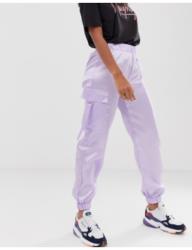 Reclaimed Vintage Inspired Satin Utility Sweatpants by Reclaimed Vintage