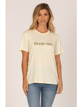 Island Vida Tee by Amuse Society