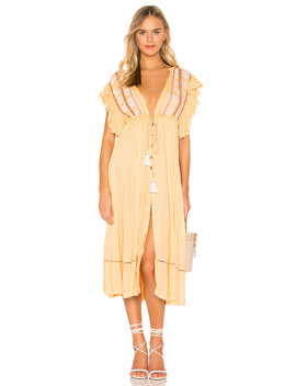 Will Wait For You Midi Dress by Free People