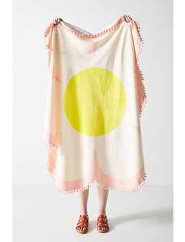 Ban.Do Embellished Daisy Beach Towel by Ban.Do