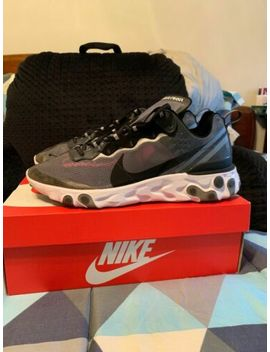 Nike React Element 87 Mens Running Shoes Sneakers Trainers Grey by Nike