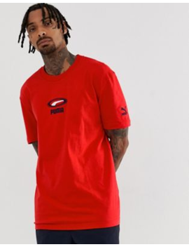 Puma Cell Pack T Shirt In Red by Puma