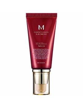 Missha M Perfect Cover Bb Cream Spf 42 Pa+++ #13 Bright Beige by Missha