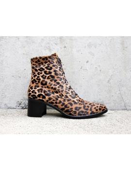 Ace Cheetah Combat Boot by Freda Salvador