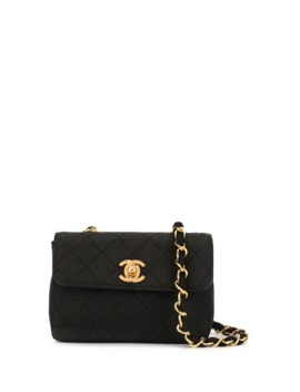 Quilted Chain Mini Shoulder Bag by Chanel Pre Owned