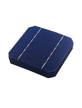Vikocell 40 Pcs 2.8 W A Grade 125 Mm Monocrystalline Solar Cells 5x5 For Diy Solar Panel 100 W by Vikocell