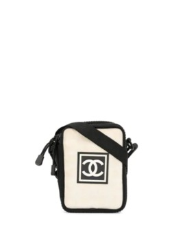 Sports Line Logo Crossbody Bag by Chanel Pre Owned