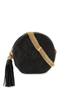 Cc Quilted Chain Shoulder Bag by Chanel Pre Owned
