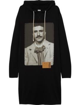 Oversized Printed Cotton Sweatshirt Dress by Loewe