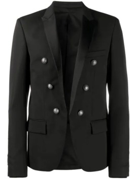 Button Detailed Blazer by Balmain
