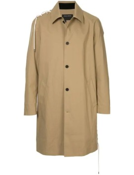 Button Up Parka Coat by Craig Green