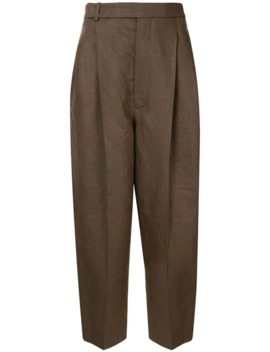 High Rise Tapered Trousers by Haider Ackermann