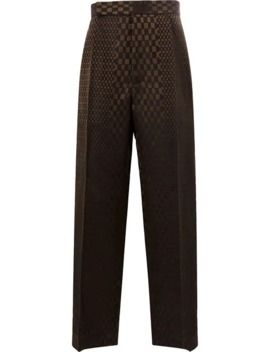 Checkered Tailored Trousers by Haider Ackermann