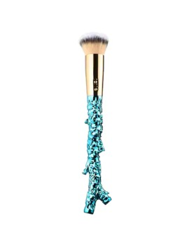 Aquaflash Foundation Brush   Rainforest Of The Sea™ Collection by Tarte