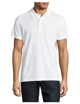 Cotton Short Sleeve Polo by Brooks Brothers Red Fleece