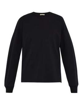 Lightweight Cotton Long Sleeved T Shirt by Bottega Veneta