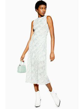Petite Tie Dye Sleeveless Dress by Topshop