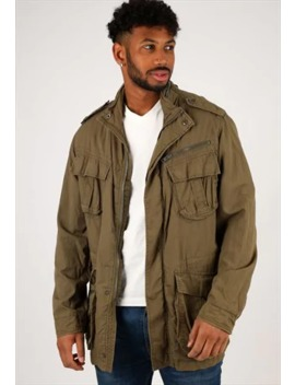 Vintage Schott Camo Jacket Nj1463 by Schott