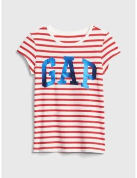 Kids Gap Logo Stripe T Shirt by Gap
