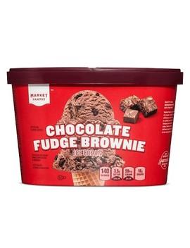 Chocolate Fudge Brownie Ice Cream   1.5qt   Market Pantry by 1.5qt