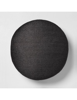 Circle Pouf Ottoman   Hearth &Amp; Hand With Magnolia by Hearth & Hand With Magnolia