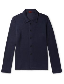Mesola Stretch Knit Shirt by Barena