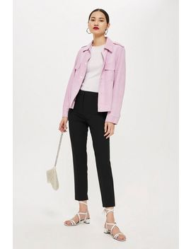Tall Highwaist Cigarette Trousers by Topshop