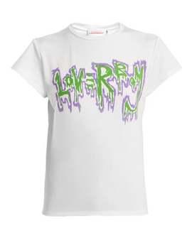 Loverboy Satin T Shirt by Charles Jeffrey Loverboy