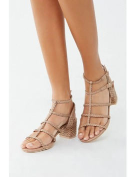 Braided Block Heels by Forever 21