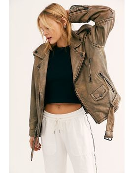Over You Moto Jacket by We The Free