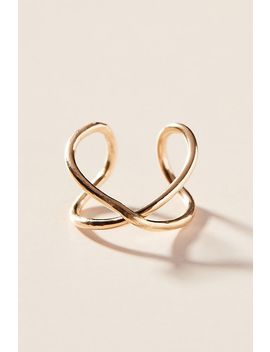 Nashelle 14 K Gold Filled Infinity X Ring by Nashelle