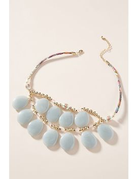 Riverbank Bib Necklace by Anthropologie