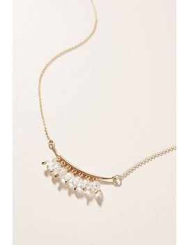 Glorianne Gemstone Necklace by Anthropologie