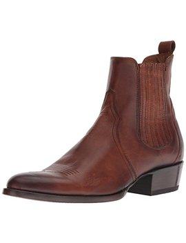 Frye Men's Grady Chelsea Western Boot, Cognac 1, 7 M M Us by Frye
