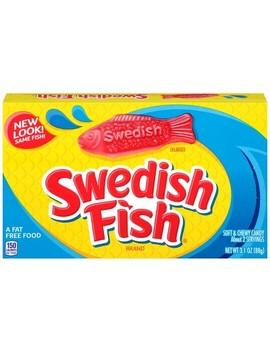 Swedish Fish Soft &Amp; Chewy Candy   3.1oz by 3.1oz