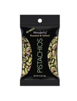 Paramount Granjas Inc. 070146A25M Wonderful Pistachios & # 44; Dry Roasted & Salted & # 44; 2,5Oz & # 44; 8/Caja by Mot4