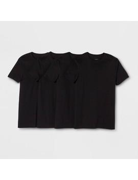Men's Crew T Shirt 4pk   Goodfellow &Amp; Co by Shirt 4pk