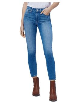 Hoxton Cropped Jeans In Renzo by Paige