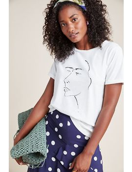 Lerna Graphic Tee by Anthropologie
