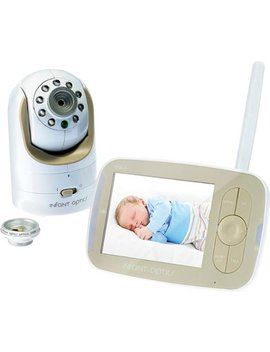 "Video Baby Monitor With 3.5"" Screen   Gold/White by Infant Optics"