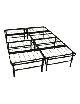 Durabed Steel Foundation &Amp; Frame   In   One Mattress Support System Foldable Bed Frame   Sit N Sleep by In