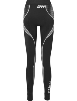 Stretch Knit Leggings by Off White